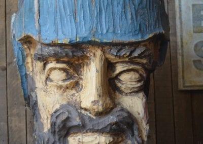 Boegbeeld van een replica VOC schip